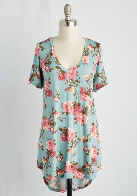 Woman's Plus Size Floral Top - ModCloth