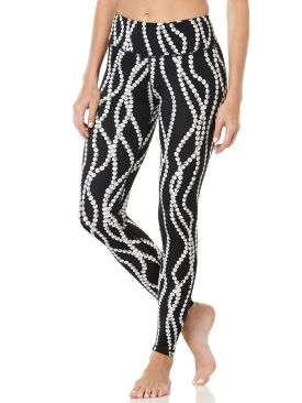 Pearl Yoga Pants - Woman's Workout Pants - Peony
