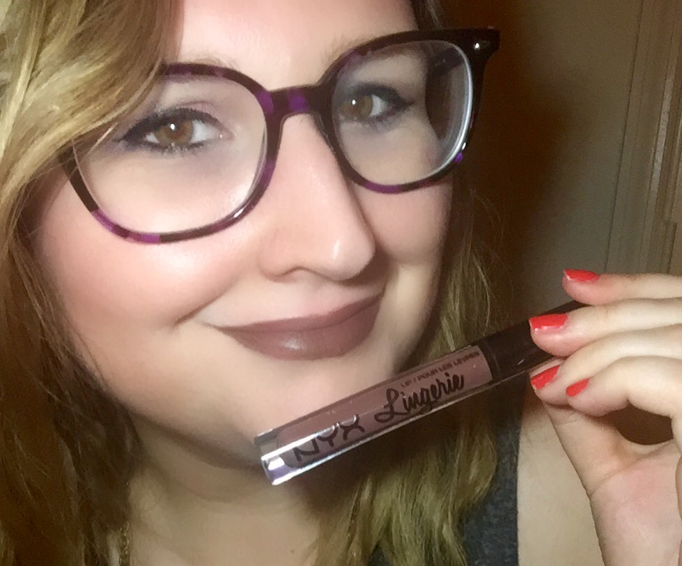 NYX Lip Lingerie in Teddy