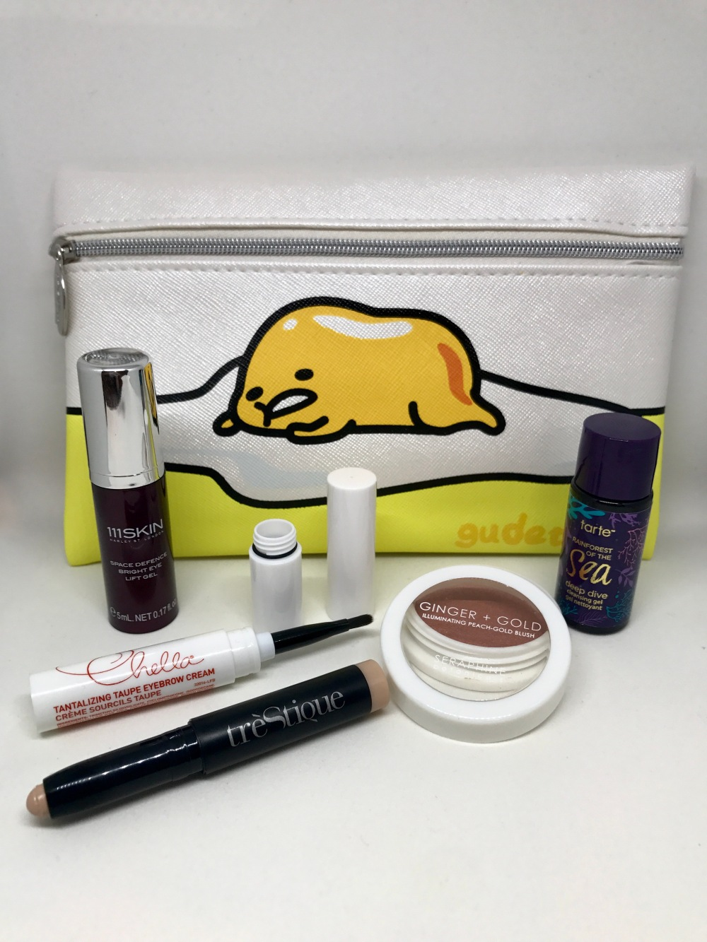 tipsy beauty bag July 2017